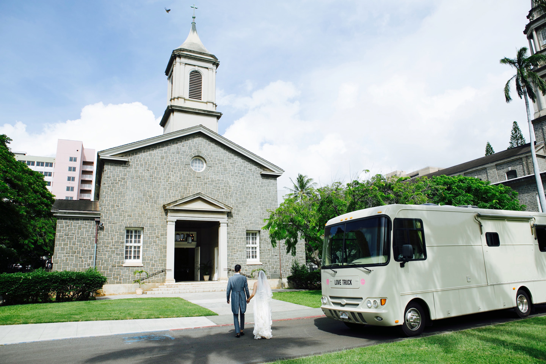 CENTRAL UNION CHURCH COURTYARD